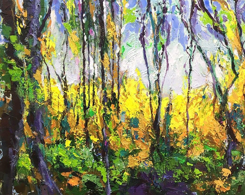 deGranero clases de pintura en Madrid paisaje colorista
