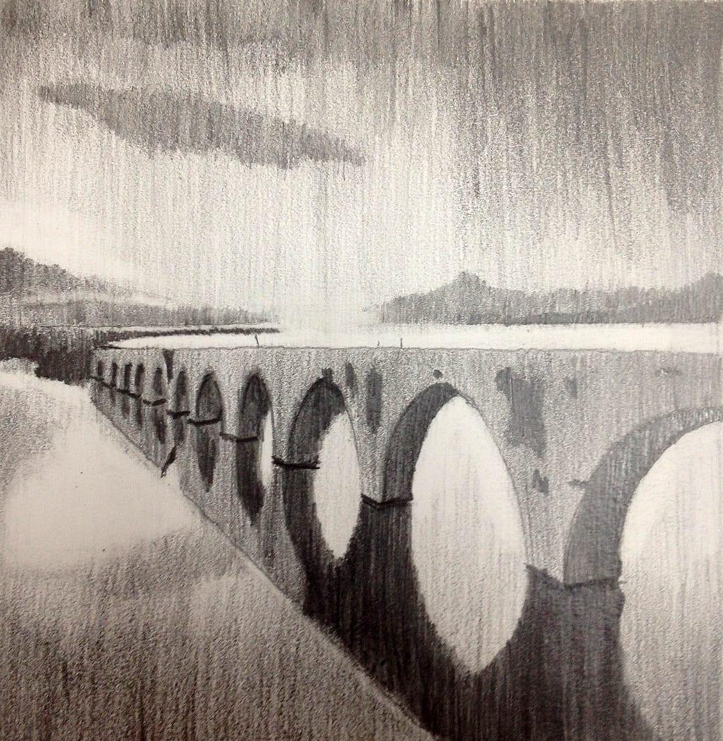 deGranero cursos de dibujo y pintura en madrid grafito puente