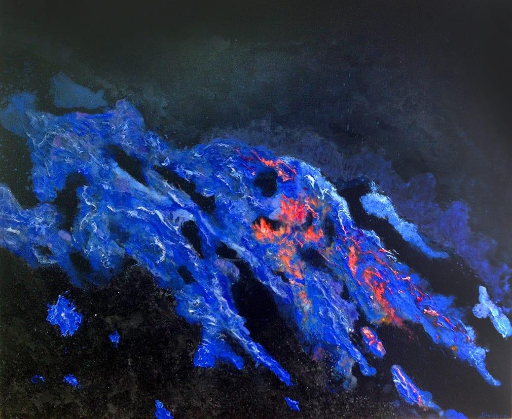 deGranero cursos de dibujo y pintura en madrid técnica mixta volcán