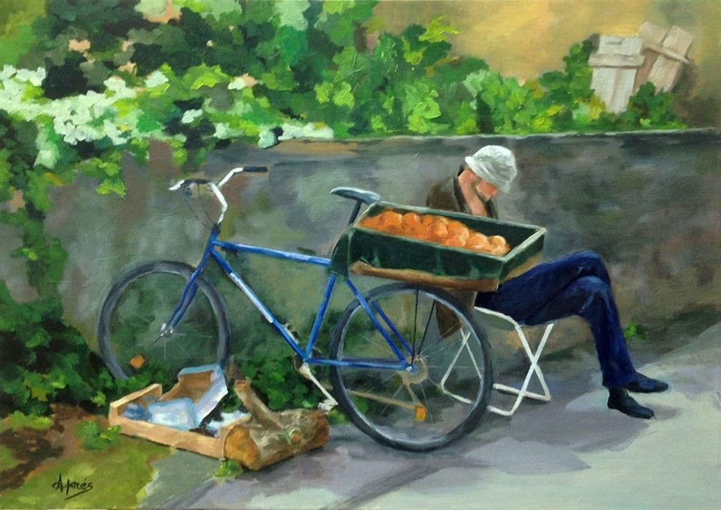 deGranero cursos dibujo pintura óleo lienzo madrid