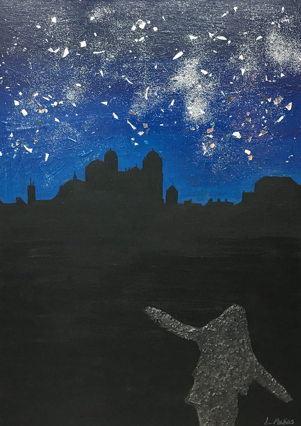 deGranero clases pintura Madrid Lucía Oliveira