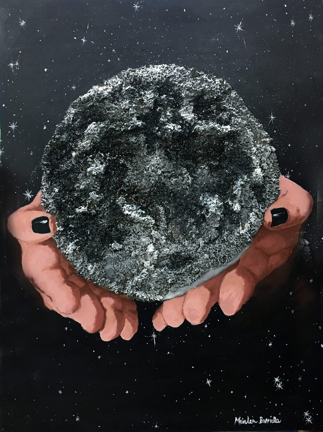 deGranero clases de pintura en Madrid luna negra