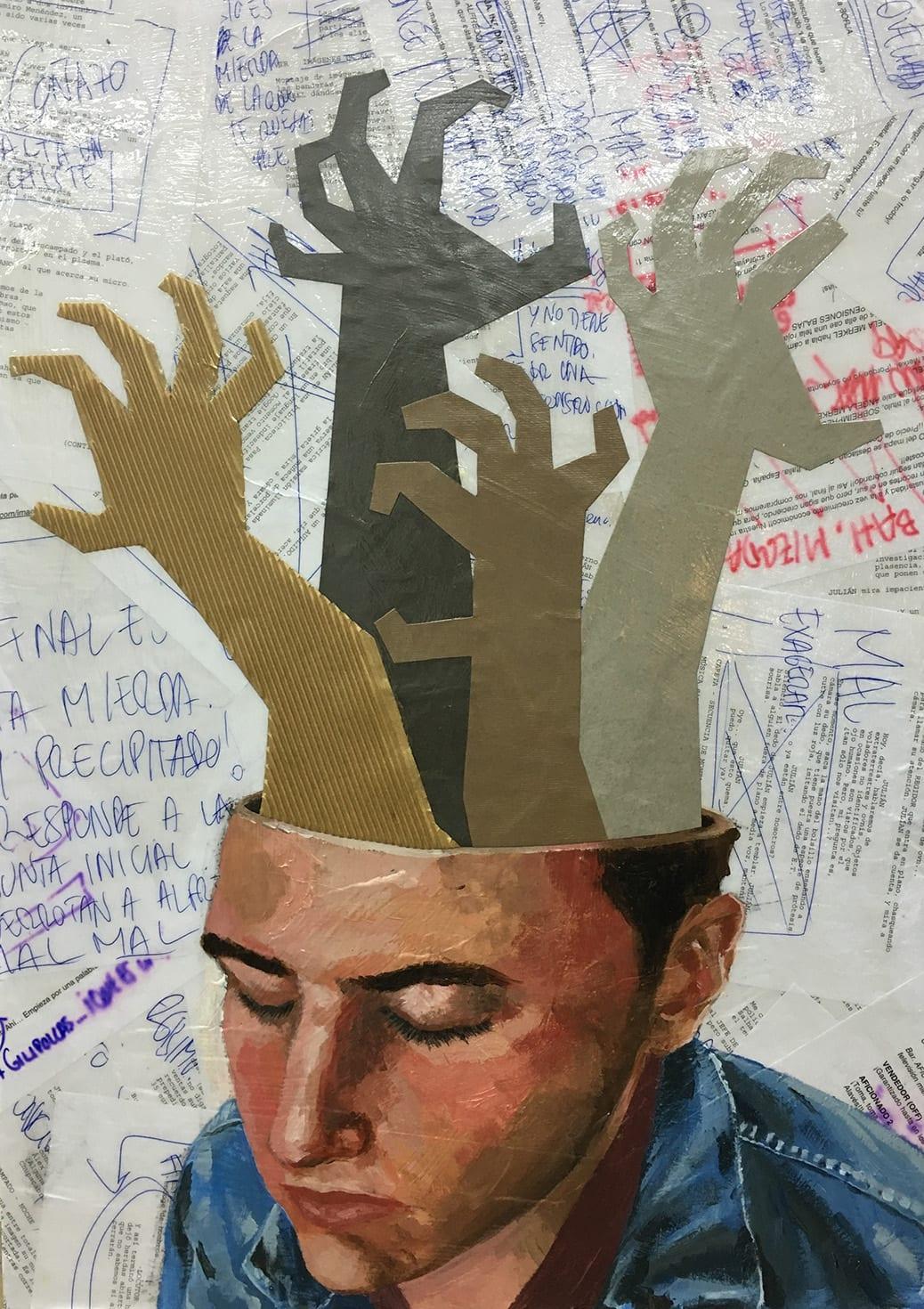 deGranero clases pintura Madrid cuadro de identidad