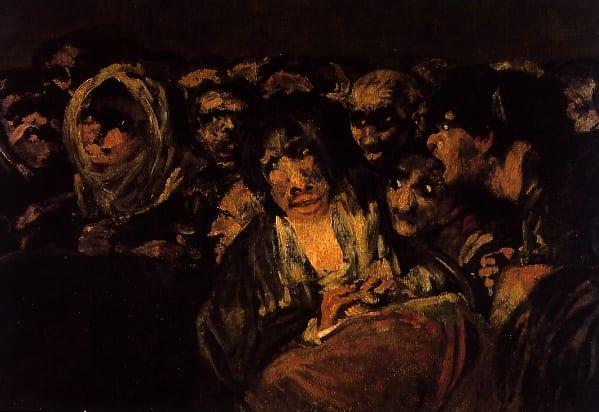 deGranero clases de pintura en Madrid. El aquelarre, Goya.