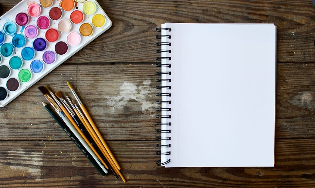 deGranero cuaderno de pintura
