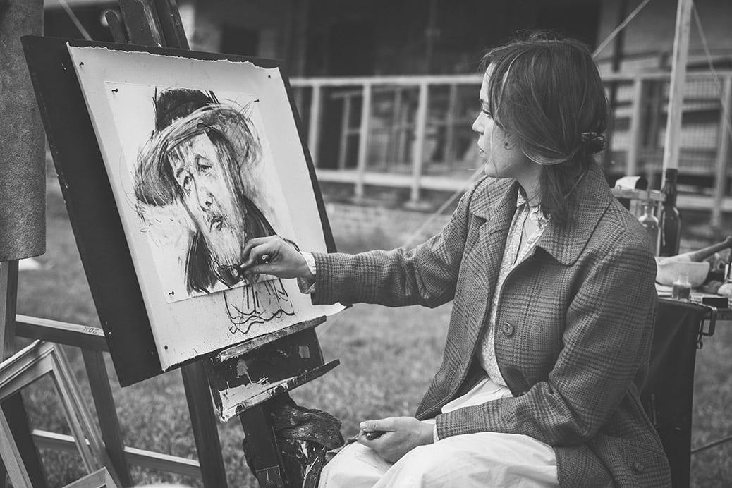 deGranero dibujo pintura Madrid esbozo