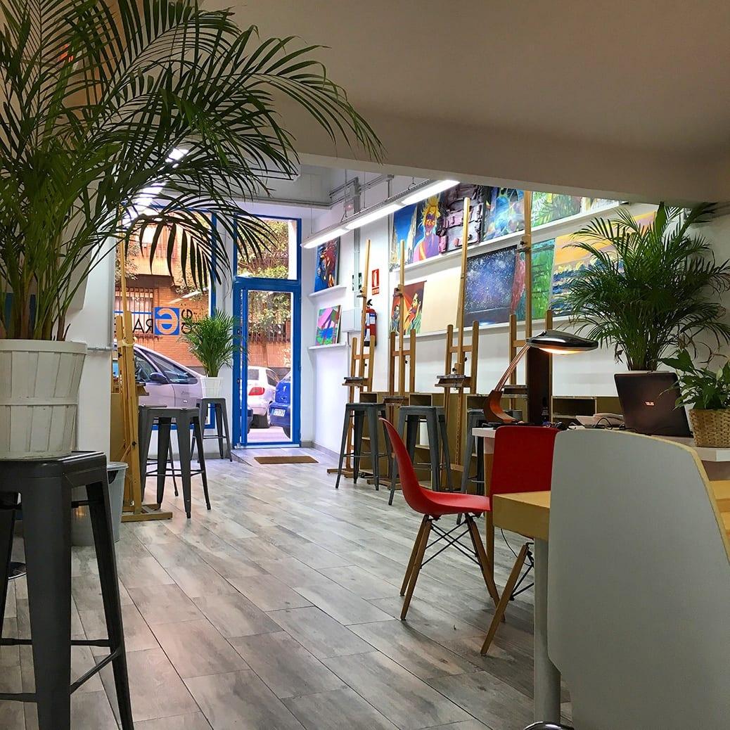deGranero cursos pintura Madrid nuestro espacio