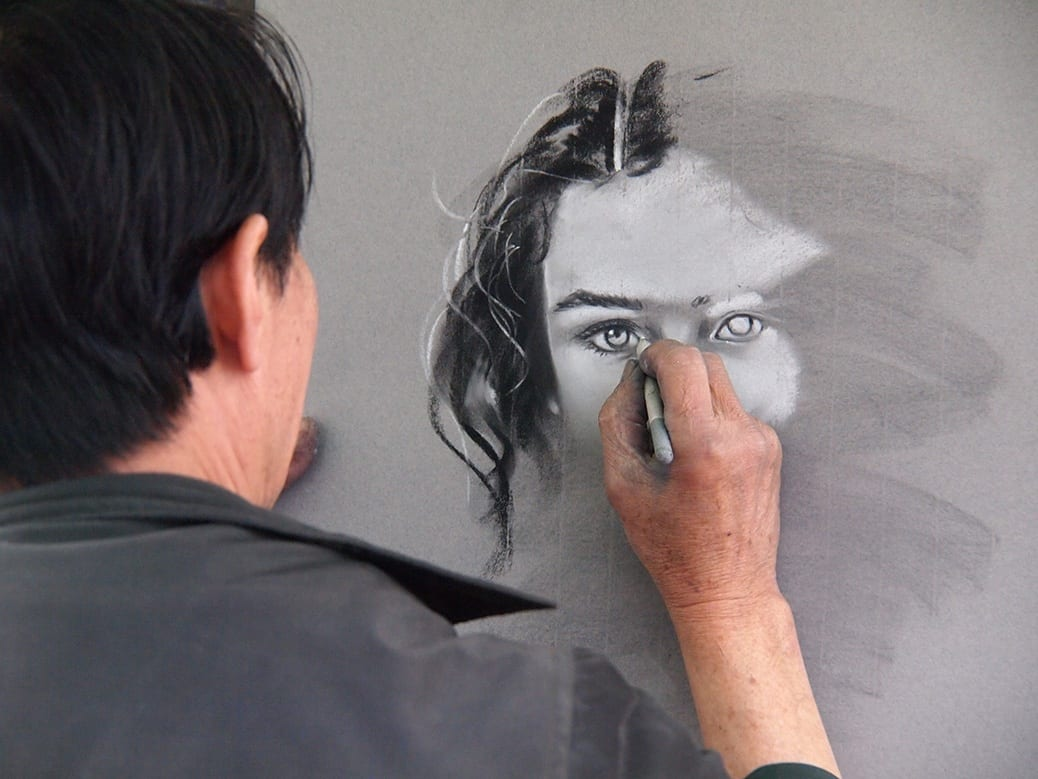 deGranero dibujar el rostro