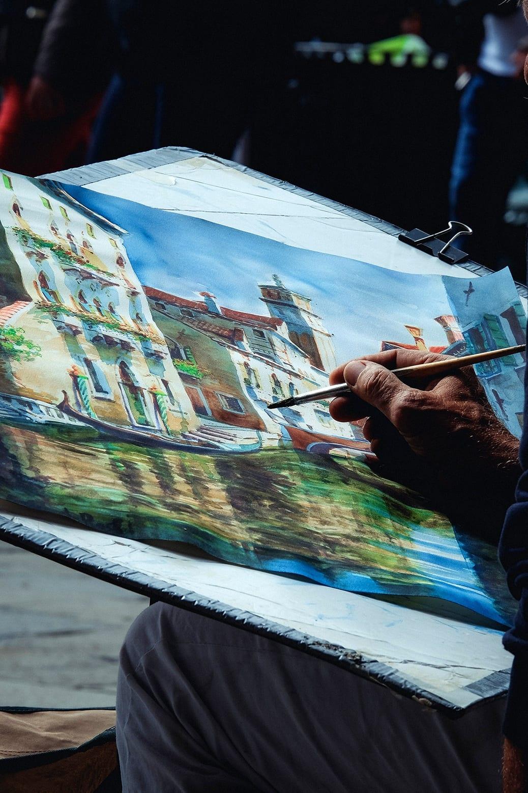 deGranero clases de pintura al aire libre en Madrid
