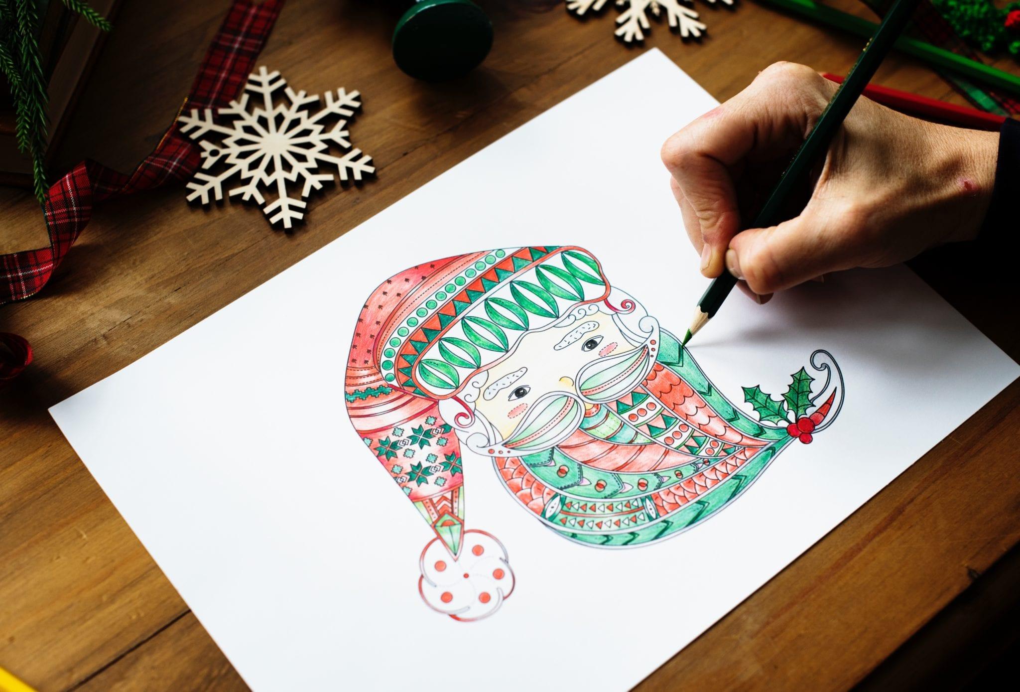 deGranero clases de dibujo con lápices de colores