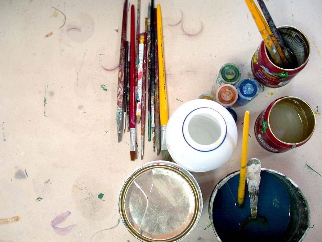 deGRanero 4 técnicas para pintar con acrílico diluido que debes conocer