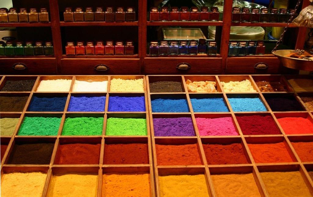 deGranero pigmentos