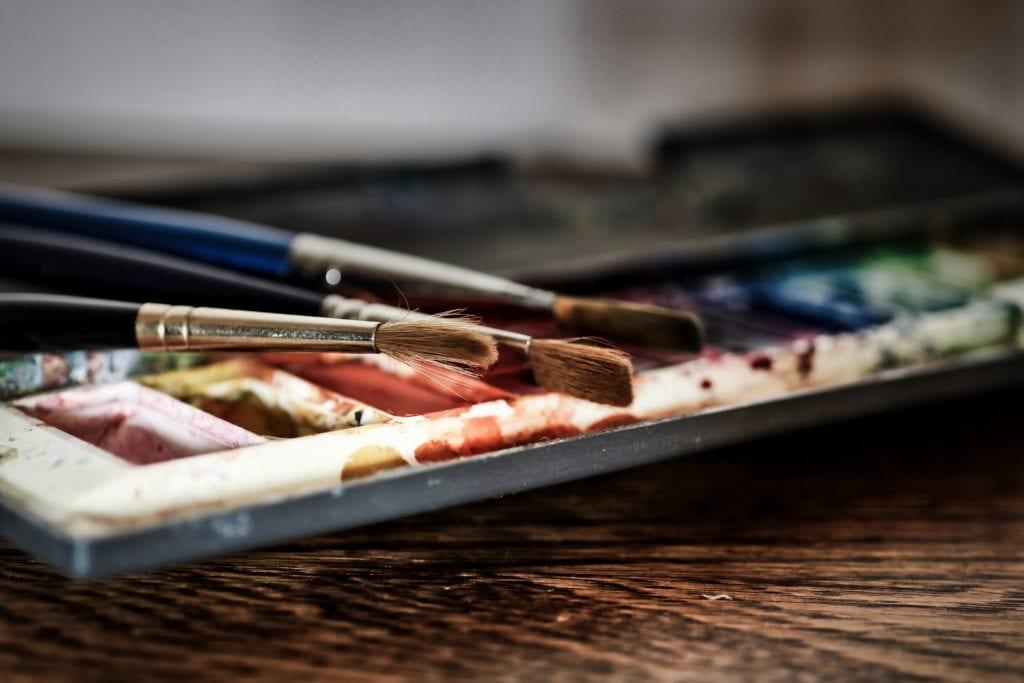 deGranero  herramientas para pintar con acuarela
