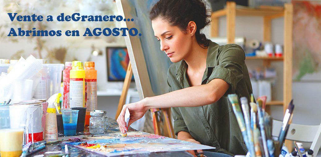 deGranero clases pintura Madrid agosto